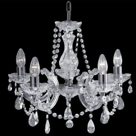 Searchlight 399-5 Marie Therese - Lámpara de araña
