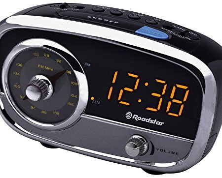 Roadstar CLR-2560 - Radio despertador