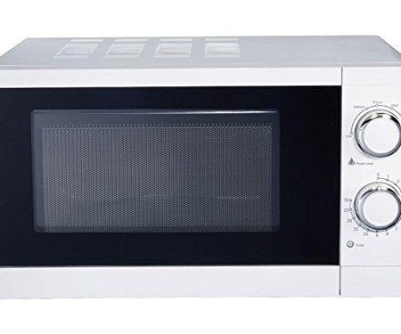 Master MW20G - Horno microondas con grill, 20 l, color blanco