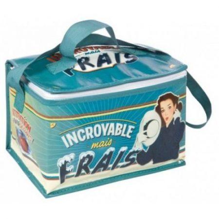 Nativos (Comptoir de Famille) francés 1950s Vintage Retro Incroyable Mais Frais Picnic almuerzo Bolsa Térmica