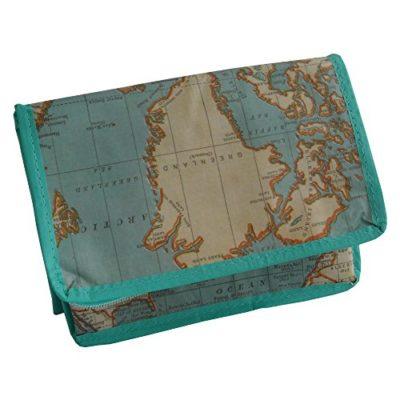 Sass & Belle TOTE061 - Bolsa nevera vintage mapa