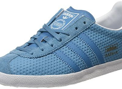 Adidas Gazelle Og, Zapatillas para Mujer, Azul (Blanch Sea/Blanch Sea/Clear Greyblanch Sea/Blanch Sea/Clear Grey), 37 1/3 EU