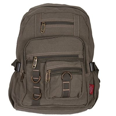 c93933344ec Daypack – Mochila de lona retro vintage Fashion Funda Back Pack para  trabajo
