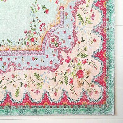 Pastel Vintage Alfombra   de Caballero Shabby Chic Look   para salón, dormitorio, Piso, etc., pastel (230x160cm)