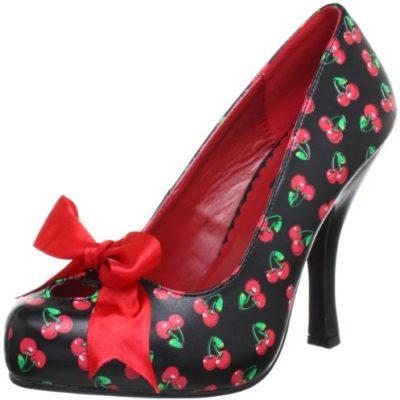 Pleaser CUTIEPIE-12 - Zapatos de Tacón para Mujer, Color Baby Pink, Talla 36 EU (3 UK)