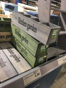 Cajas vintage para la cocina